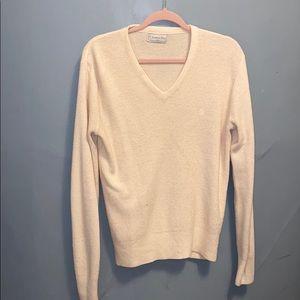 V neck a Christian Dior sweater